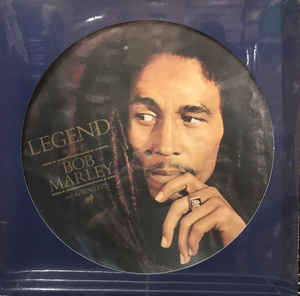 BOB MARLEY AND THE WAILERS - LEGEND (THE BEST OF BOB MARLEY AND THE WAILERS) - Vinyl, LP, Compilation, Limited Edition, Picture Disc, Reissue - PLAK
