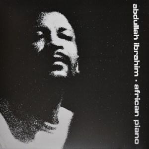 ABDULLAH IBRAHIM - AFRICAN PIANO - Vinyl, LP, Album,- PLAK