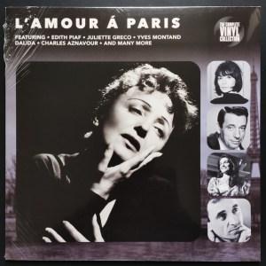 L'AMOUR Á PARIS - Edith Piaf-Charles Aznavour-Dalida - Vinyl, LP, Compilation - PLAK