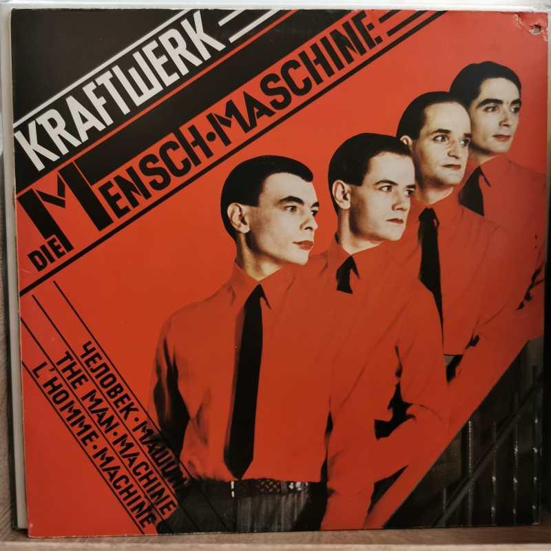 KRAFTWERK-DIE MENSCH•MASCHINE- Vinyl, LP, Album, Stereo,-PLAK