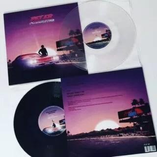 "Transparent clear or black? @_peter_carpenter_ - Sunset Rider EP. 10"" vinyl record...  #vaporwave #sunset #rider #ep #10inch #10cali #lathecutrecords #shortrunvinyl #vinyloveme #recordoftheday #vinylcollection #vinyligclub #vinyloftheday #vinil #vinilos"