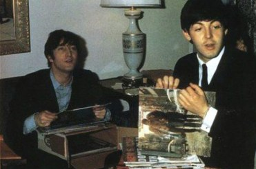 John Lennon and Paul McCartney