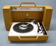 General Electric Wildcat Portable Record Player (1970)