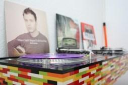 Lego DJ booth
