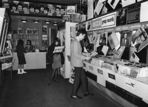 Record store 1965