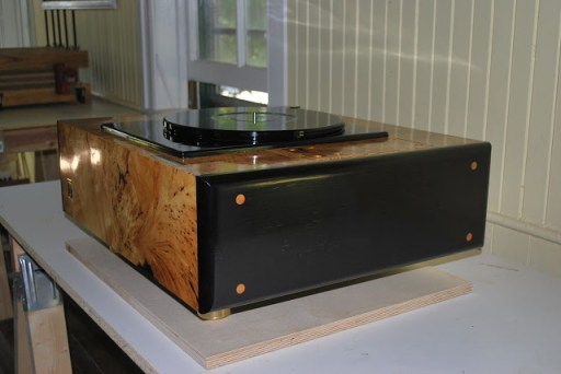 Jean Nantais Reference Lenco MKII turntable