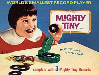 The Smallest Record Player