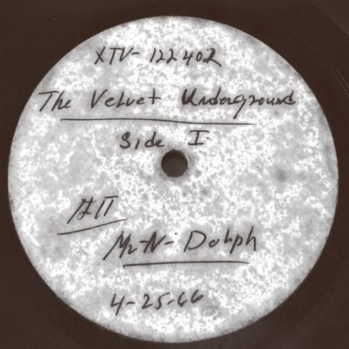 1966 Velvet Underground and Nico Acetate — $25,200
