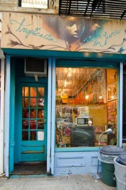 Tropicalia in Furs Record Store Greenwich Village New York Store Front