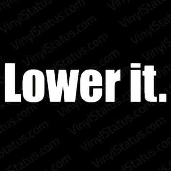 Lower-It