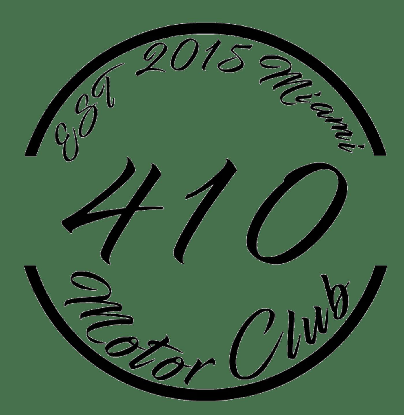 410 Circular Badge Decal Premium Quality Vinyl Status