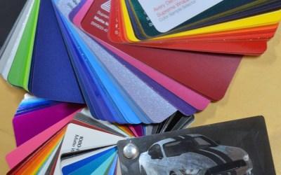 Car Wrap Colours