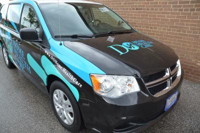 Do Home Health Care Van Wrap