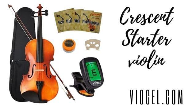 Crescent Starter violin