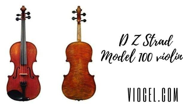 D Z Strad Model 100 violin