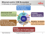 Ethernet COE Ecosystem - Image courtesy of Fujitsu