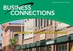 An image of the business newsletter that Home Telecom uses to help businesses on Daniel Island.