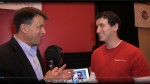 Ken Pyle interviews a Rocket Lawyer founder at CES 2013.