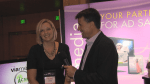 Ken Pyle interviews Becky Jones of Viamedia at The Independent Show.