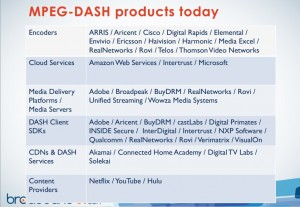 A sampling of some of the DASH products available today.