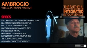 Ambrogio, the virtual personal assistant who will keep a person on track.