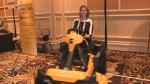 The ZERO from Cub Cadet is demonstrated at the 2014 International CES