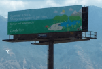 An image of a Google Fiber billboard in Provo, Utah.