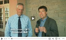 Click here to see the video interview with the CEO of Cincinnatil Bell