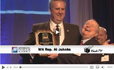 click here to watch the video interview with Minnesota State Representative Al Juhnke