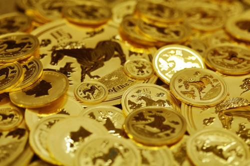 Perth Mint Gold Bullion Lunar Horses