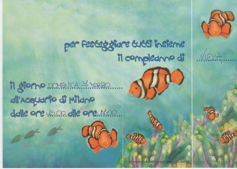 Una festa di compleanno riuscitissima... All'Acquario Civico di Milano. Organizzazione Verdeacqua. (2/5)