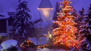 Christmas Village Vail Colorado