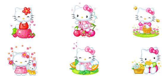Animated Hello Kitty Avatars