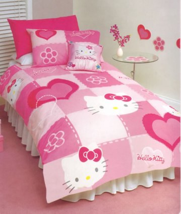 Jcpenney-Hello-Kitty-Bedroom