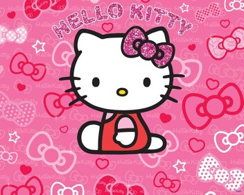 detska-tapeta-waltastic-3D-hello-kitty