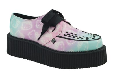 Hello-Kitty-x-T.U.K-Ombre-Creeper