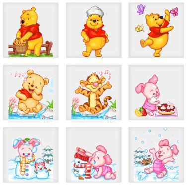 Pooh Animated Dollz