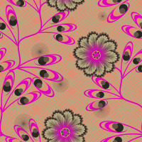 Penny Lane Seamless Pattern Set