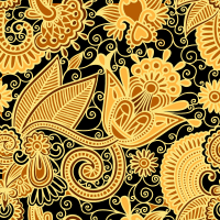 Honey BooBoo Seamless Pattern Set