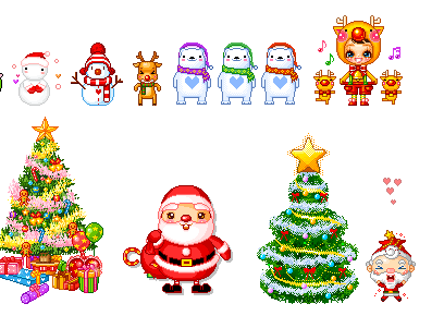Animated Snow Men