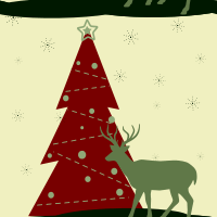 Merry Christmas Seamless Pattern Set 02
