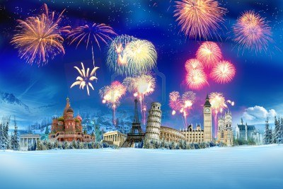 New Years Around the World Re Posted