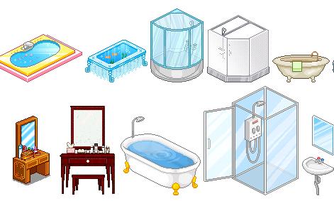 Cartoon World Bath Items
