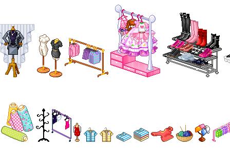 Cartoon World Mall Items
