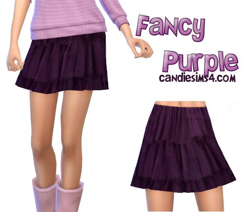 Fancy Purple Mini