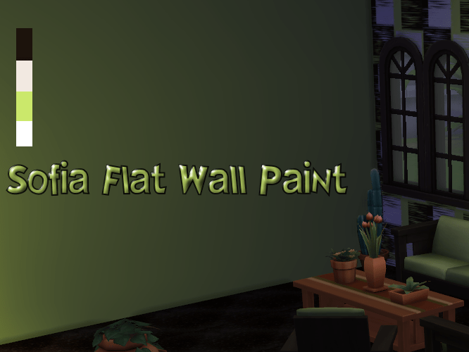 Sofia Flat Wall Paint