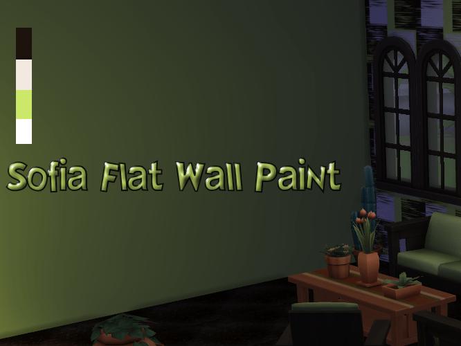 Sofia Flat Wall Paint