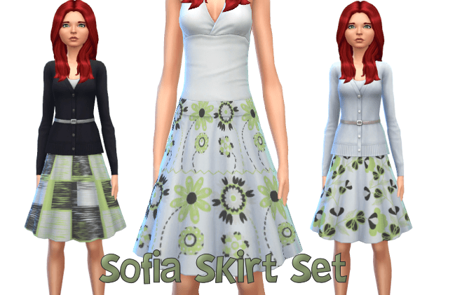 Sofia Skirt Set