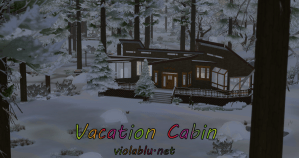 B&B Vacation Cabin for Sims 4