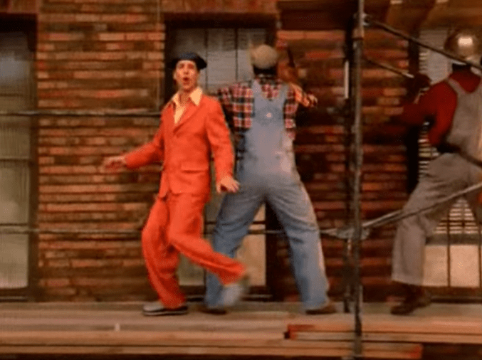 French Stewart (as Harry Salomon) – Life has been good to me